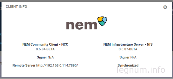 Nem Wallet 0.6.84-BETA