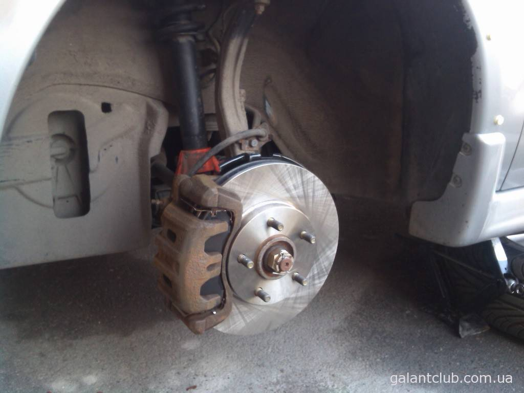 Замена дисков и колодок