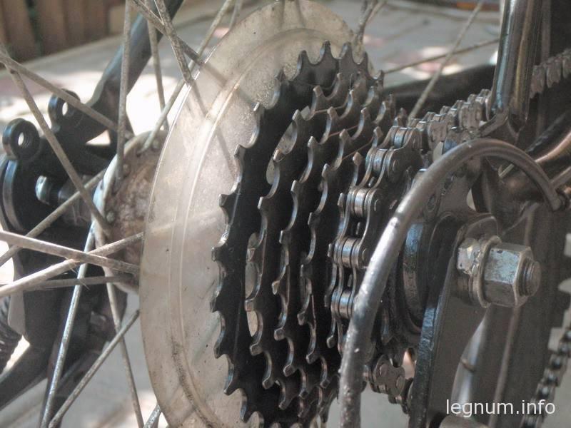 Как помыть цепь велосипеда