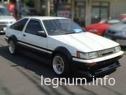 TOYOTA Corolla AE86 дрифт
