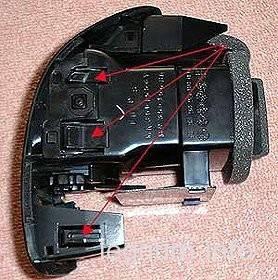 левый дефлектор обдува