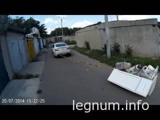 Как выбросить мусор из гаража