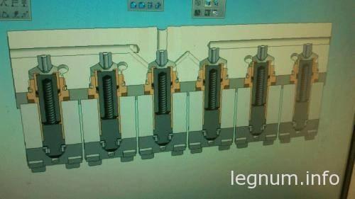 Блок клапанов пневмоподвески 6 кл. 4 контура