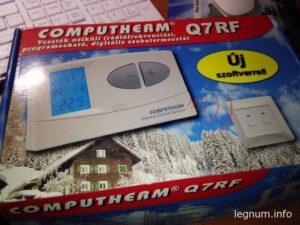 Программатор COMPUTHERM Q7 RF установка
