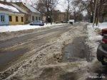 Уборка снега в Одессе январь 2015