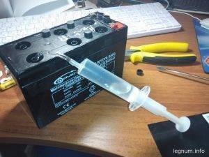 Как восстановить аккумулятор от ИБП