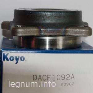 Подшипник передней ступицы KOYO DACF1092A