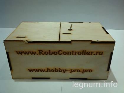 Бесполезная роботизированная коробка URoboBox