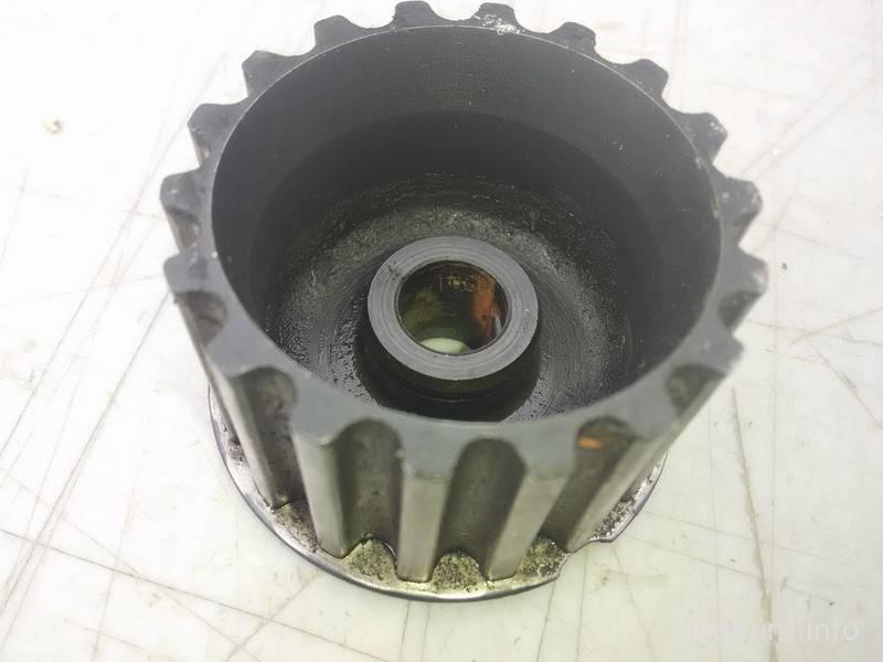 ТО мотора Galant E33 DOHC