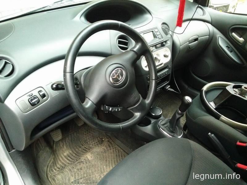 Снятие руля Toyota Yaris