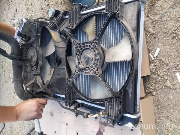Замена радиатора Galant EA5A