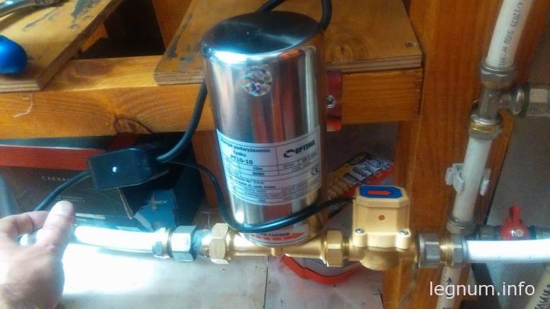 Насос для поднятия давления воды