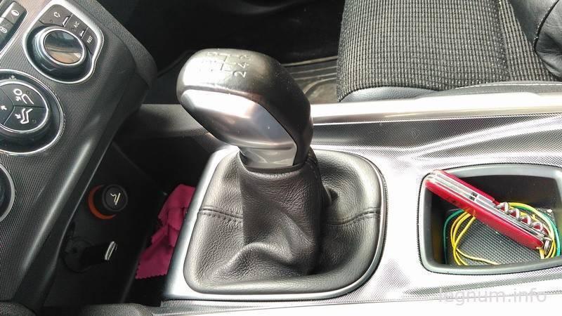 Как снять ручку КПП Citroen C4