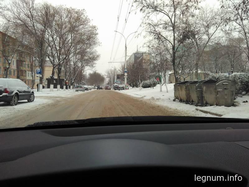 Состояние дороги M-16, январь 2016