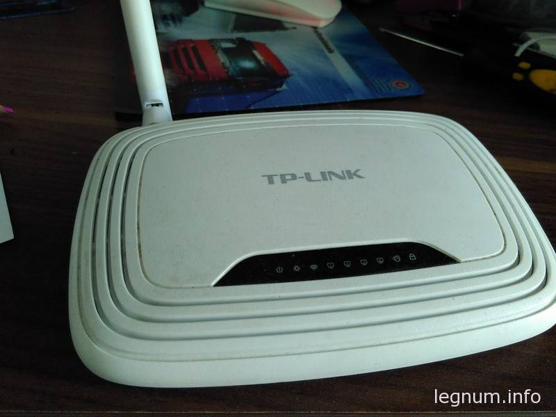Пропадает wi-fi на TP-Link 743ND