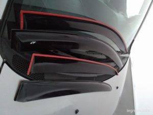 Дефлекторы окон Toyota Yaris P1
