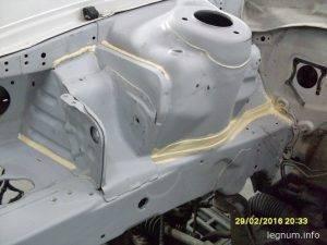Ремонт стаканов и переборка мотора VR-4