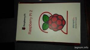 Покупка и знакомство с Raspberry Pi 2 model B