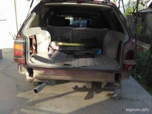 Снятие бампера VW Passat B3