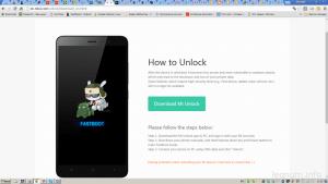Разблокировка Xiaomi Redmi 3