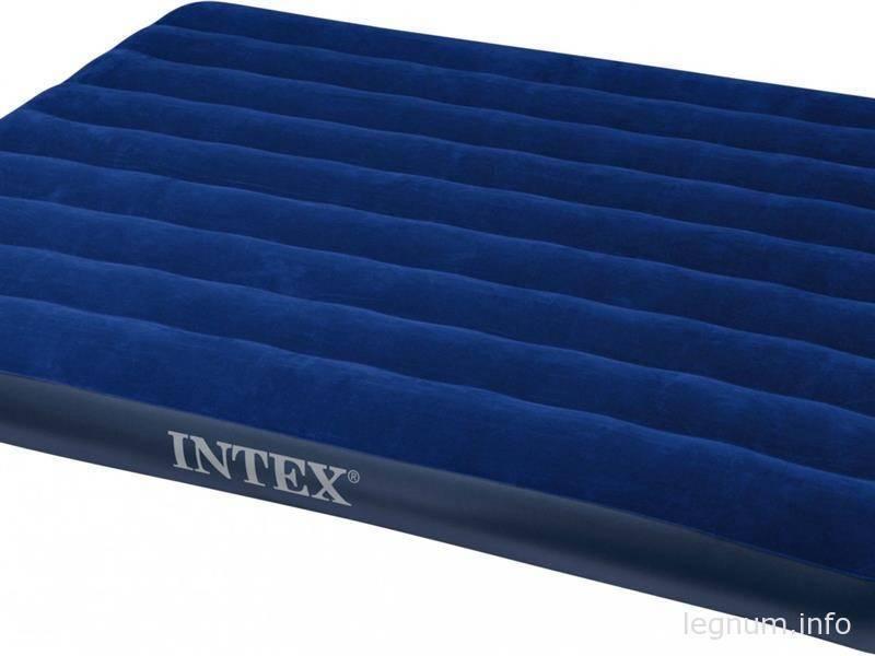 Покупка матраса двухместного, INTEX