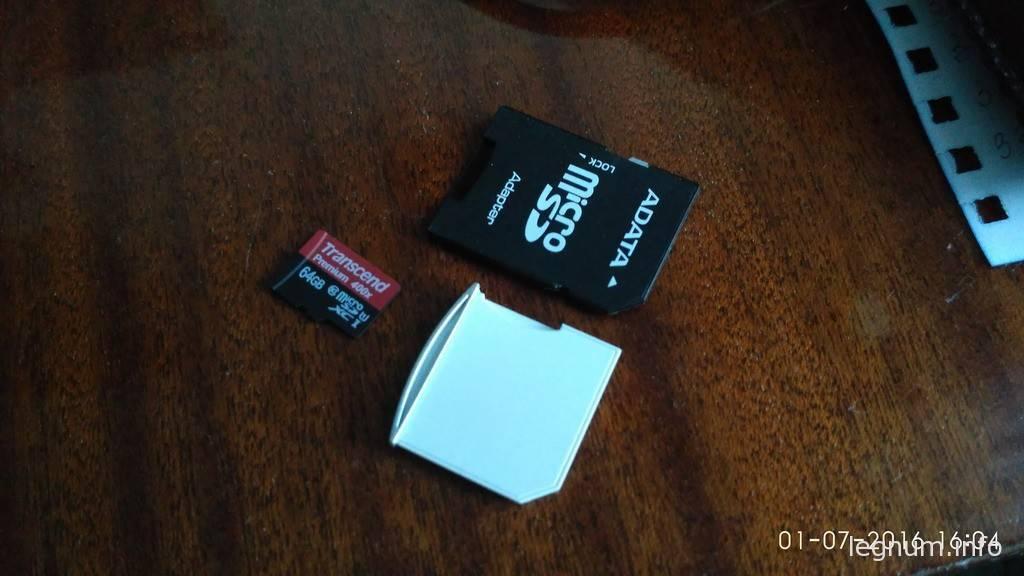 Компактный MicroSD Card Adapter