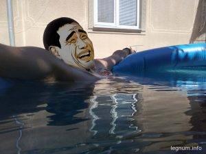 Покупка бассейна INTEX