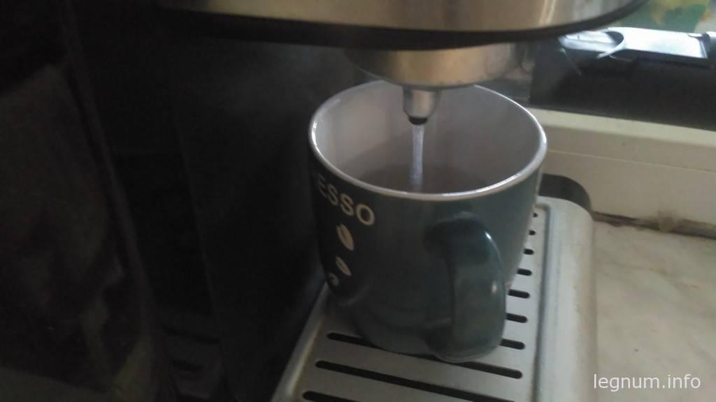 Кофеварка не делает кофе