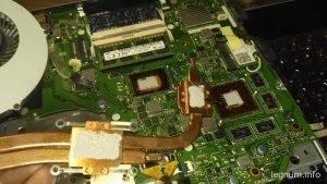 Чистка и замена пасты ноутбук ASUS K56CB