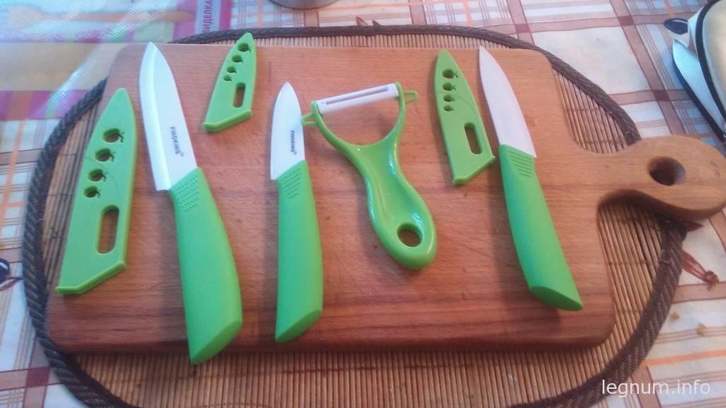Керамические ножи FINDKING, отзыв