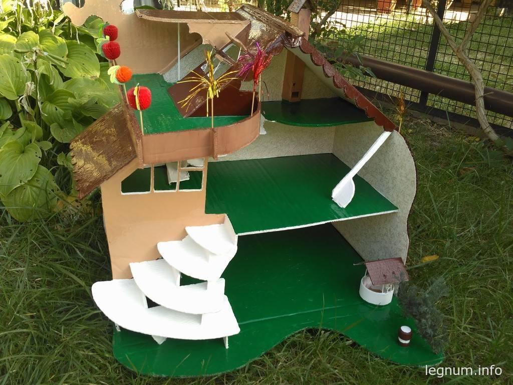 Кукольный домик из картона #2