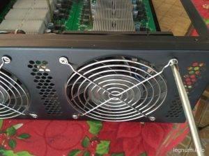 Снимаем вентилятор антмайнер с4