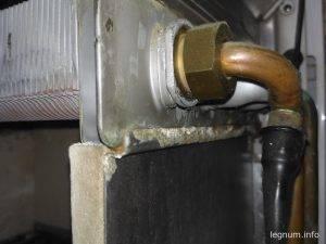 Подключение теплообменника Berreta CIAO 24