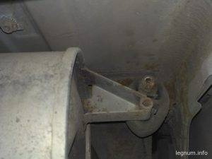 Замена задних колодок барабана Yaris P1