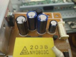 Замена конденсаторов Самсунг