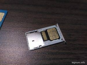 Готовый бутерброд NanoSIM + MicroSD