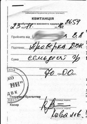 Акт проверки ДВК газовщиками