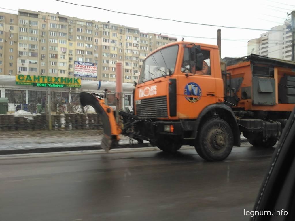 Наледь Одесса 08.02.2017