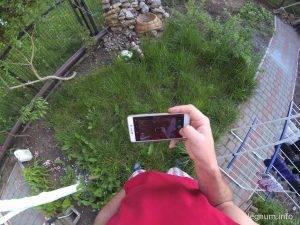 как снимает камера с головы