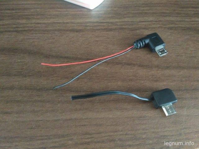 Зачищаем наш сторонний провод, оставляем только черный и красный провода, все остальное вырезаем: