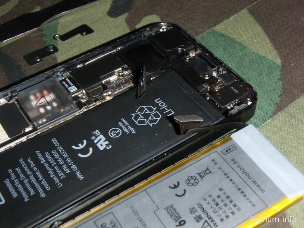 Замена аккумулятора iPhone5