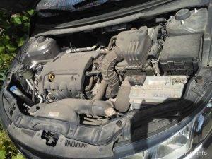 грязный мотор Kia