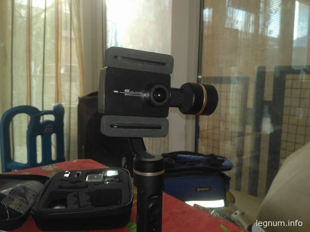 Стедикам Feiyutech Spg и Yi 4k камера