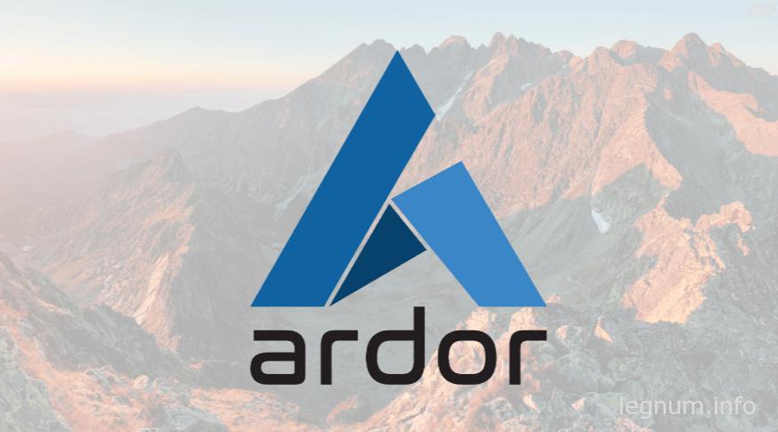 Кошелек для криптомонеты ARDOR