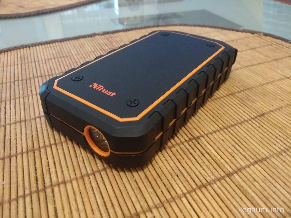 УМБ Trust Car Jump Starter 10000 mAh Black/Orange