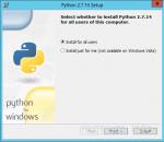 Установка Python на Windows