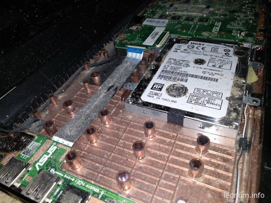 ноутбука ASUS X502C