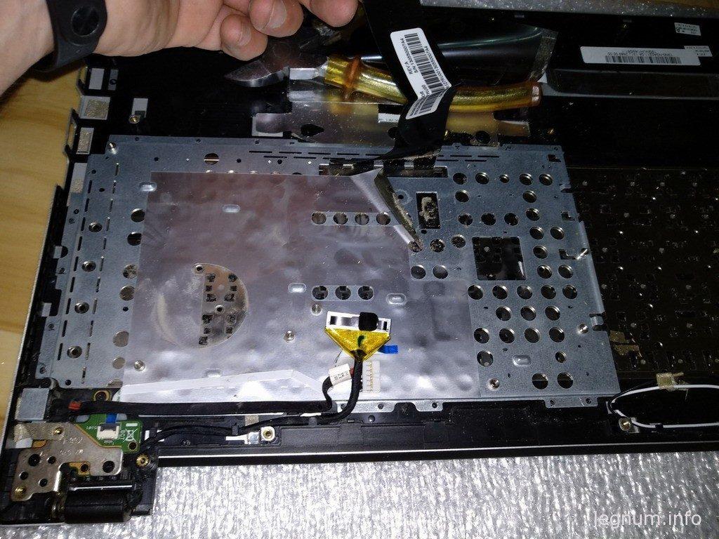 Замена клавиатуры ноутбука ASUS K56