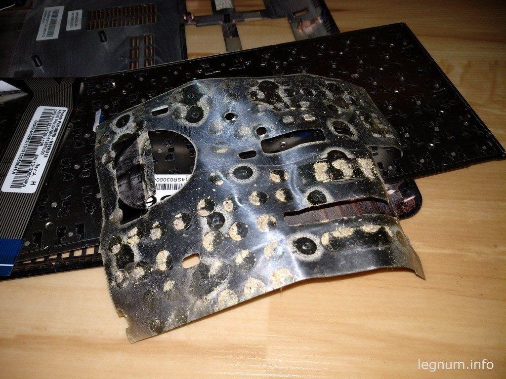 разборка ноутбука ASUS X56C