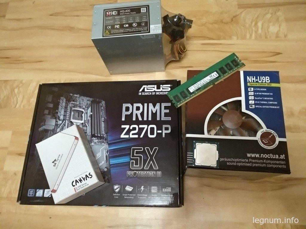 Asus PRIME Z270 P, Socket 1151, ATX, Чипсет Intel Z270, 4 х DDR4 2133-3866 МГц, 6 SATA 6Gb/s, 2x M.2, 2xPCI-E x16, 4xPCI-E x1, 6 USB, из них 4 USB 3.0, DVI, HDMI, PS/2 x 2, Sound 7.1, Lan 1Gb